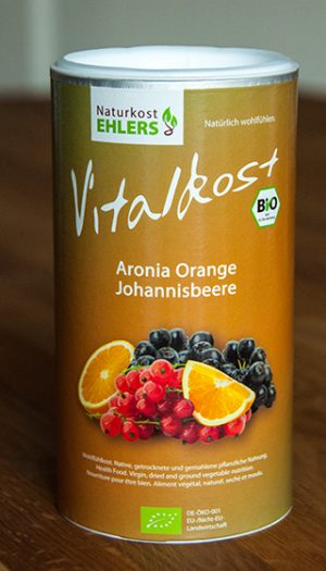 Vitalkost Amaranth und Quinoa: Aronia Orange Johannisbeere — 375 g