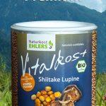 Vitalkost Amaranth und Quinoa, Gekeimtes Korn: Shiitake Lupine — 250 g