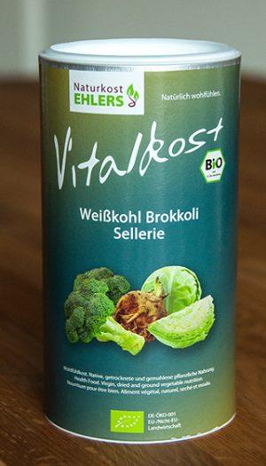 Vitalkost Amaranth und Quinoa: Weißkohl Brokkoli Sellerie — 375 g