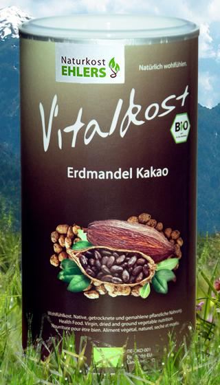 Vitalkost Amaranth und Quinoa: Erdmandel Kakao — 375 g